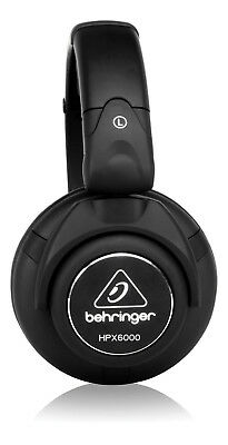 Behringer HPX6000 Professional DJ Studio Adjustable Headband Headphones