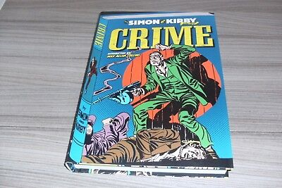 The Simon & Kirby Library Crime Hardcover Book New Joe Jack Graphic Novel Titan