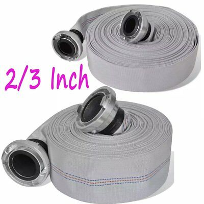20/30m Fire Hose 2/3 Inch Flat Hose Lay Flat Water Pump with B-storz Couplings