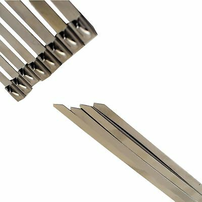 Stainless Steel Metal Cable Ties Fasteners Zip Ties Strong Heavy Duty