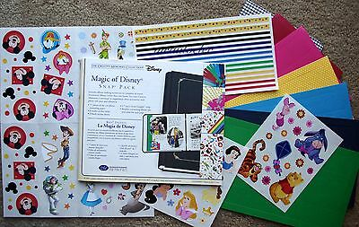 Creative Memories Magic of Disney Snap Pack Mickey Mouse Disneyland Goofy
