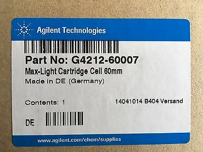 Agilent 1200 Infinity DAD  Max-Light cartridge cell, 60 mm  G4212-60007