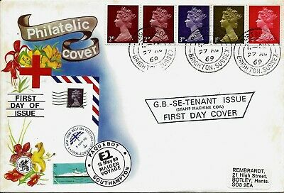 Gb Fdc Definitives First Day Covers 1967 To 1997 Royal Mail Stuart Connoisseur