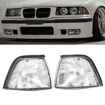 BMW E36 3 Series Coupe/Convertible Corner Lights Side Lights Clear INDICATOR