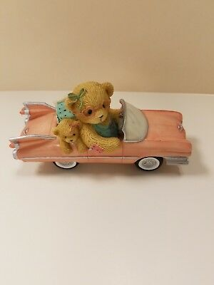 CHERISHED TEDDIES Evelyn A Girl With Style 2002 pink Cadillac