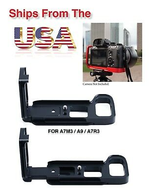 GABALE QR L Plate Bracket Camera Grip Camera Holder for Sony A7RIII A9 A7RM3
