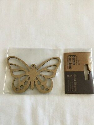 Wooden Shape Butterfly (2)
