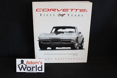 MBI Book Corvette Fifty Years, Randy Leffingwell (English) (JO)