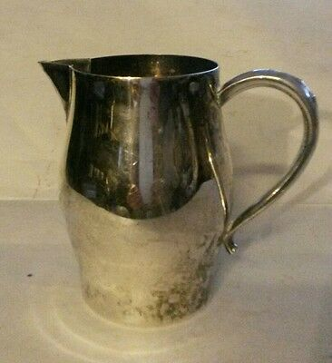 """Creamer Pitcher 3.75"""" Vintage Wm A Rogers Silverplated"""