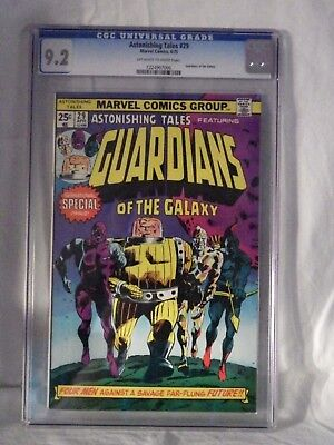 Marvel Astonishing Tales - Guardians Of The Galaxy - Issue 29 Cgc 9.2