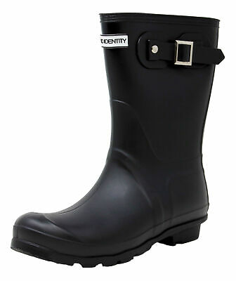 Exotic Identity Short Rain Boots Non-Slip 100% Waterproof for Women