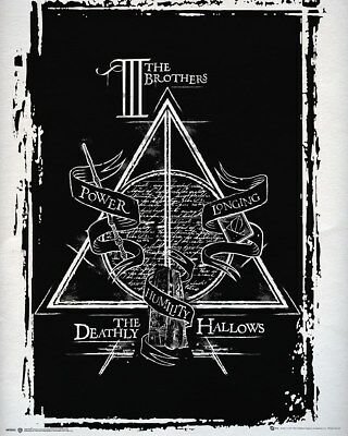 Mini Poster Harry Potter Deathly Hallows Graphic 40 x 50 cm