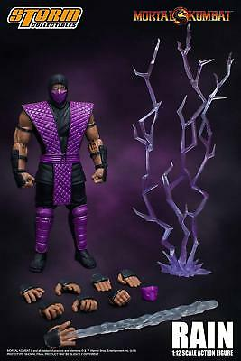 Storm Collectibles Mortal Kombat Rain NYCC Exclusive 1/12 Action Figure USA