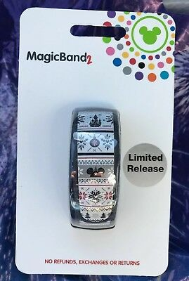Disney Holiday 2018 Ugly Sweater MagicBand Magic Band Limited Release New