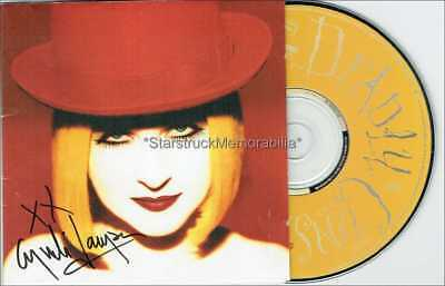 Cyndi Lauper Autograph *Twelve Deadly Cyns* Hand Signed Cd