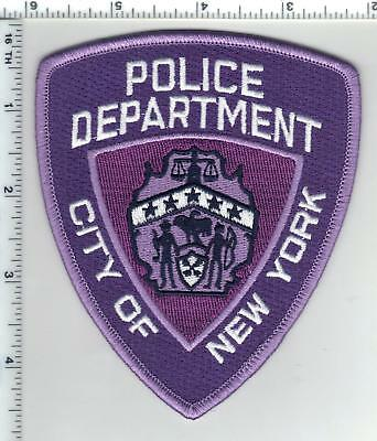 Domestic Violence Awarness New York City Police Patch (may be worn in October)