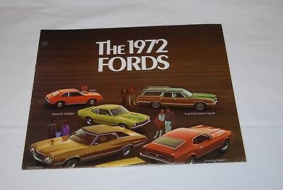 1970 Fords, Sales Brochure, Folder,  46 Years Old