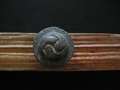 TRISKELION MARK AMULET ANCIENT CELTIC BRONZE DRUIDS TALISMANS 500-200 B.C. 23 mm
