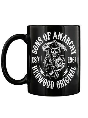 Sons of Anarchy Tasse Redwood schwarz