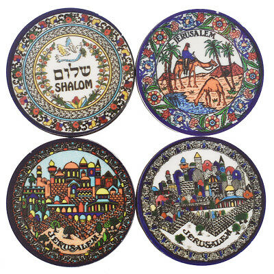 Jerusalem Fridge Magnet Refrigerator Magnetic Sticker Camel Pigeon Printed Decor
