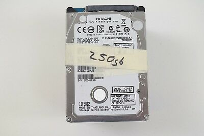 "Lot of 10) Hitachi 250GB 2.5"" SATA  Laptop HDD (Mixed Thickness + Speed)"