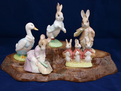 Beatrix Potter Figurines By Royal Albert  BP6a Backstamp - SELECT FIGURE -Mint