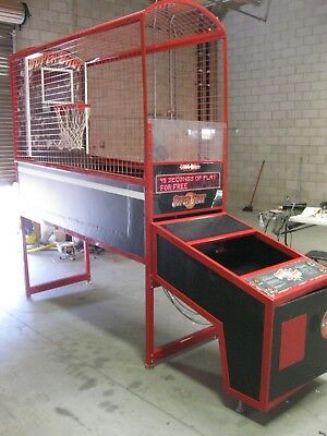 Super Shot Deluxe Arcade Basketball Game PARTS/REPAIR $8000 MSRP Skee-Ball Inc.