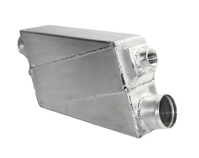 "3"" I/O Turbo Water to Ari Aluminum Universal Intercooler  14""X8""X4.5"" Z-423"