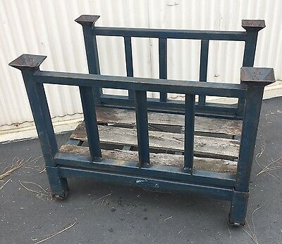 "Heavy Duty Material Handling Storage Collapsable Rack ID 36"" X 21"" X 20"""