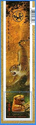 2010 Canada #2349 Chinese Lunar Year Of The Tiger Souvenir Stamp Sheet Mint-NH