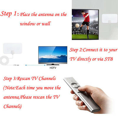 200 Mile Range Antenna TV Digital HD Skylink 4K Antena Digital Indoor HDTV Mini