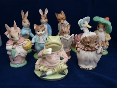 Beatrix Potter Royal Albert Backstamp Bp6a Large Figures SELECT FIGURE Mint