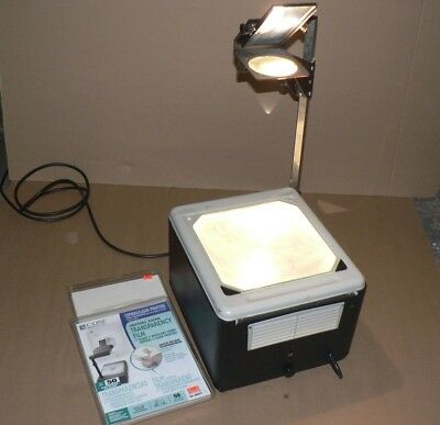 Working Overhead Projector Plus 2 Packages of Transparency Film.