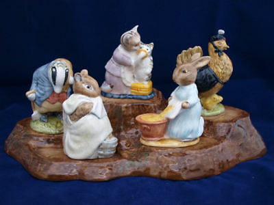 Beatrix Potter Figurines by Royal Albert BP6a Backstamp - SELECT FIGURE - Mint