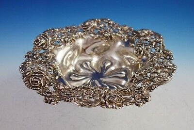 Rose by Black, Starr and Frost Sterling Silver Fruit Bowl Pierced #108 (#2983)