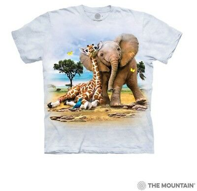 The Mountain Kid/'s 100/% Cotton T-Shirt Tee Clownfish Size S-L-XL Made in USA NWT