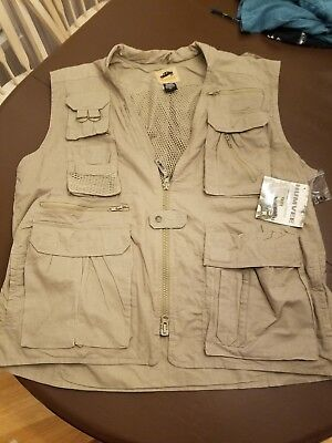 New With Tags Mens Campco Humvee Safari Photo Hunting Fishing