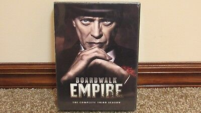 HBO Boardwalk Empire The Complete Third Season 3 DVD Brand New Sealed