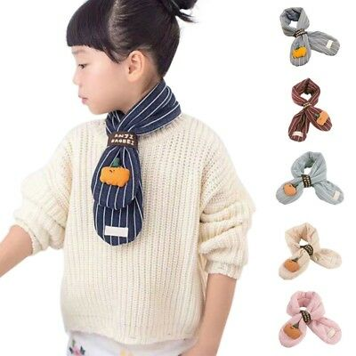Outdoor Cold Protection Baby Cotoon Scarf Boys Girls Skiing Casual Warm Scarves