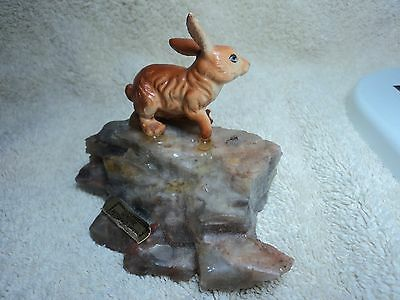 ~Carved~ Genuine PETRIFIED WOOD  Carving