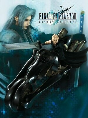 "Final Fantasy VII Cloud Sephiroth Cloth 31"" x 43"" Wall Scroll (Display)"