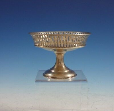 "Lebkuecher Sterling Silver Compote with Pierced Rim 3 1/2"" x 5"" #2167/3 (#2997)"