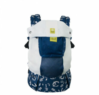LILLEbaby Complete Airflow 6-in-1 Baby Carrier Anchors Away Design 7 - 45 Pounds