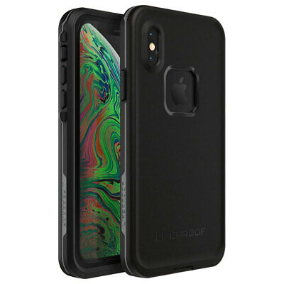 LifeProof Fre Case/Cover Protector Drop Protection for Apple iPhone XS Asphalt