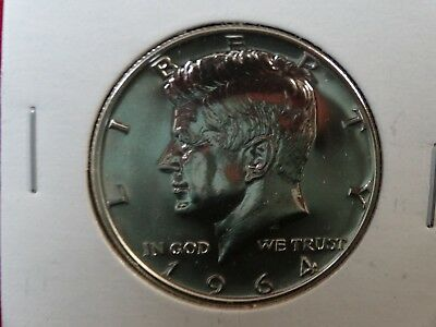 1964  Kennedy *proof* 90% Silver Half Dollar    Item #24
