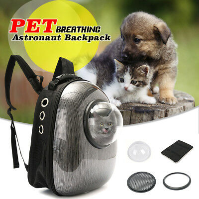 Pet Dog Cat Carrier Bag Astronaut Pouch Front Shoulder Back Pack Puppy Pouch NEW