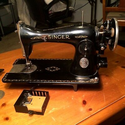 Antique Singer Sewing Machine AD497734 for Parts
