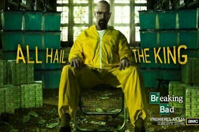 Poster Breaking Bad BreakingBad White Pink TV Show Art Wall Cloth Print 504