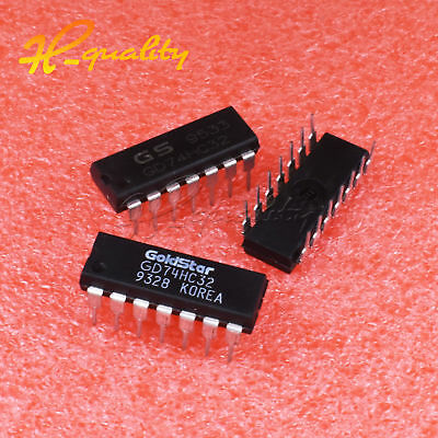 5PCS/20PCS GOLDSTAR GD74HC32N 14-Pin Dip Integrated Circuit New
