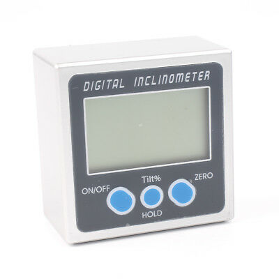 4*90° Digital Inclinometer Level Box Protractor Angle Finder Bevel Gauge Magnet